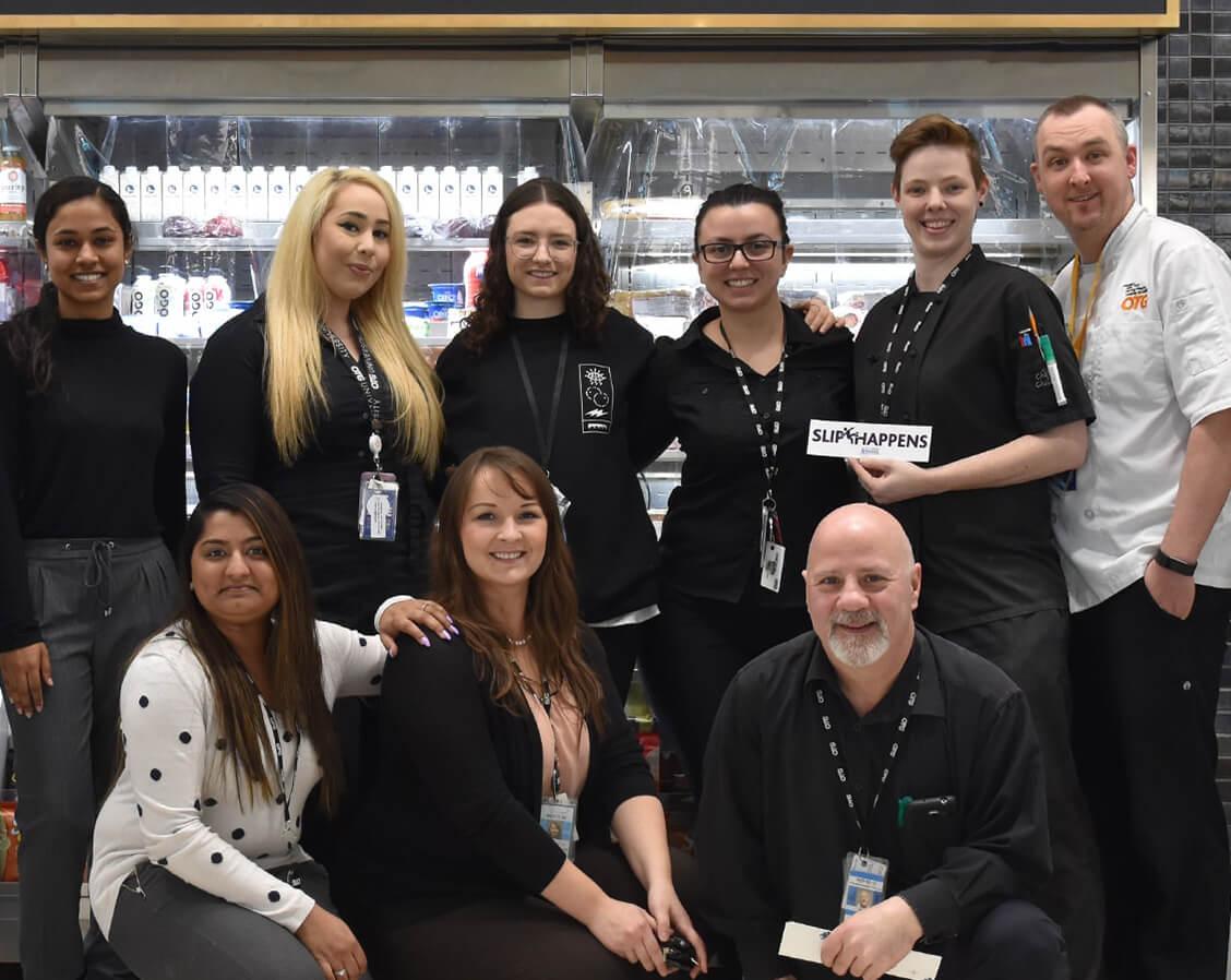 Membres de l'équipe de la sécurité de l'aéroport Pearson