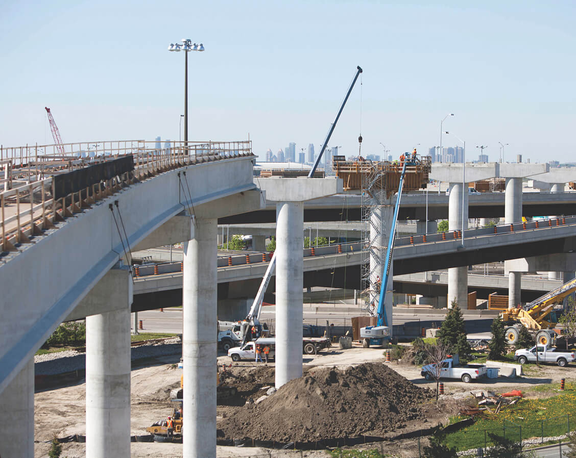 Pearson Airport Construction