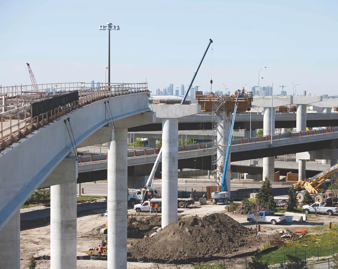 Construction de l'Aéroport Pearson