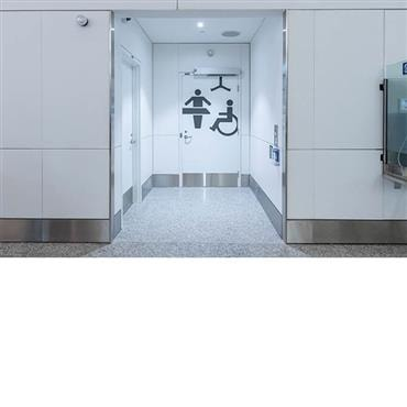Accessible toilets and changing rooms