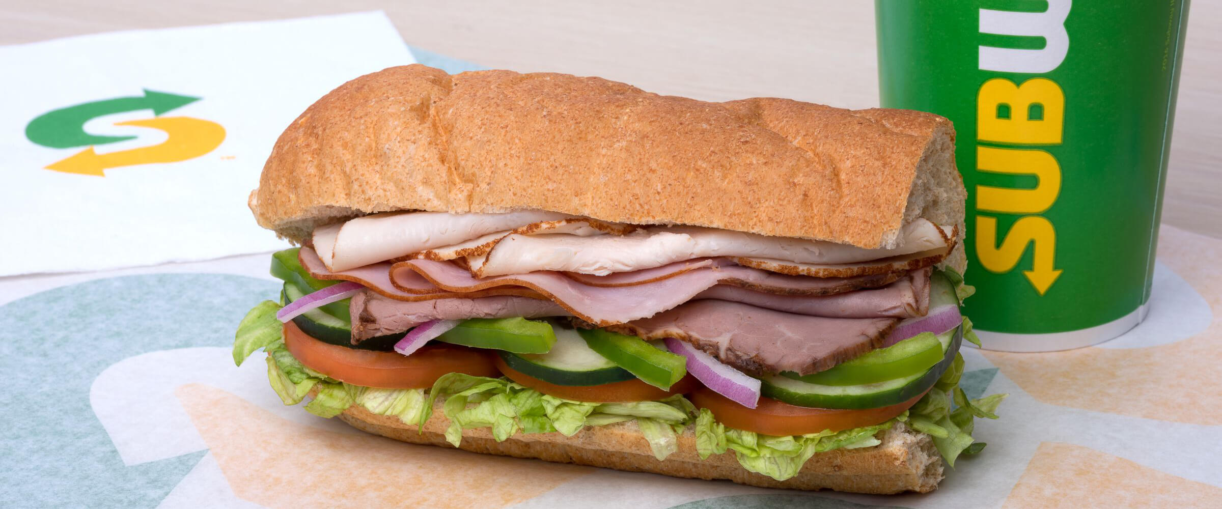 Subway Subs at Pearson Airport - Terminal 3 - After Security   Pearson Airport