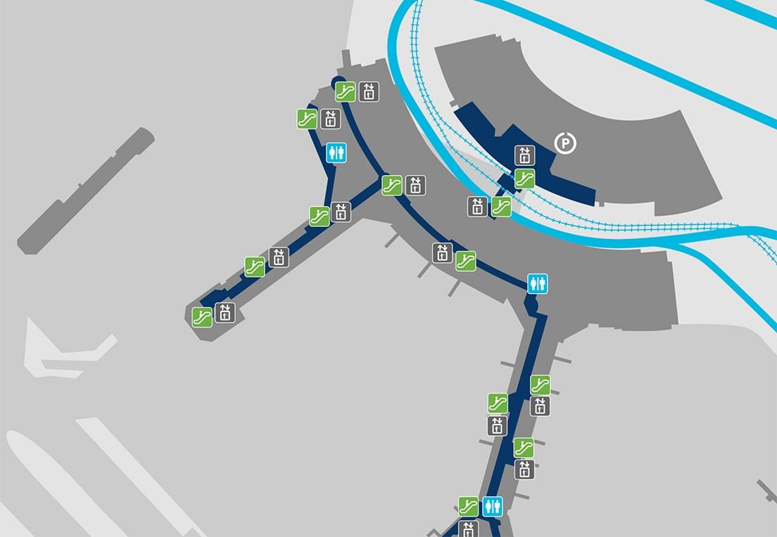 Pearson airport terminal 3 gate map