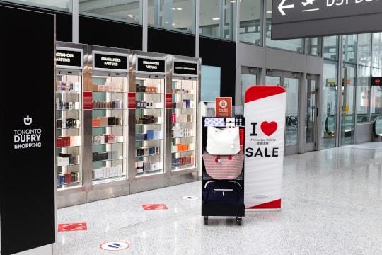Toronto Dufry Shopping Kiosk
