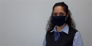 MeetMaria,whohelps our passengers throughout the airport