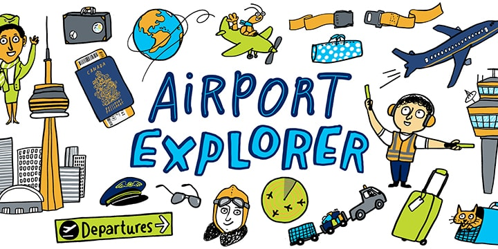 Airport Explorers logo