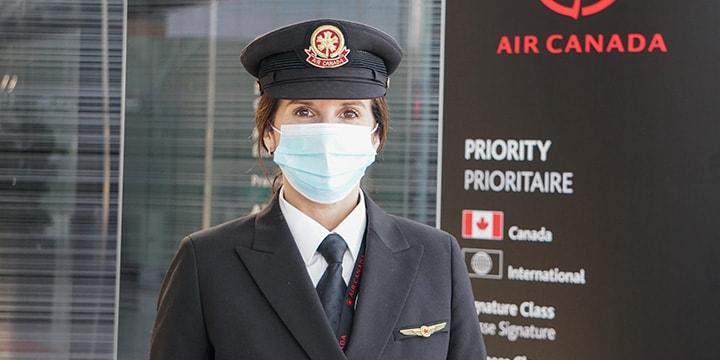Robyn, première officière, Air Canada