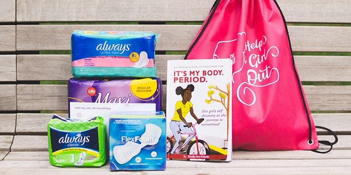 La communauté de Pearson se rassemble pour appuyer une œuvre de bienfaisance luttant contre la précarité menstruelle